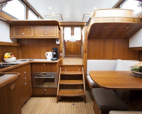 Zeitlosem interieur archieven dutchess yachts yachtbau holland
